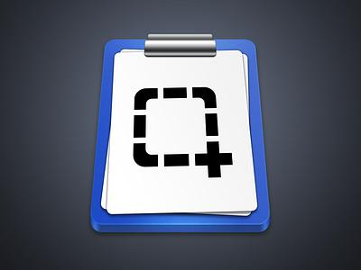 Screenshot Tool screenshot mac grabbox icon blue grey white clipboard