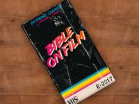 Bible On Film Mockup