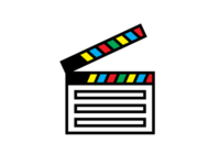 Unused Film Slate Icon