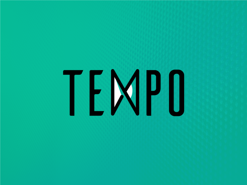 Tempo Logo brand branding logo design