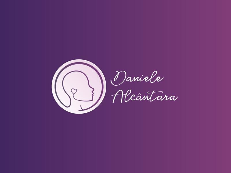 Daniele Alcântara Logo dental dentist logo dentistry dtm dentist branding logo design