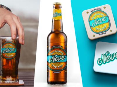 Neve's Beer Company Mockups