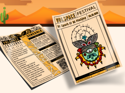 Volspace Festival Flyer