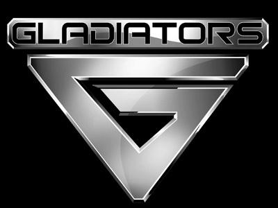 Sky T.V Gladiators Logo logo branding gladiators sky tv metallic vector logo brand