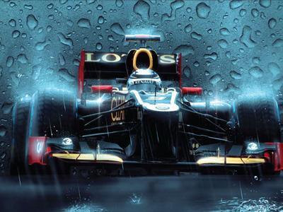 Formula 1 Lotus Case photo illustration swoosh wheels helmet motorsport lighting effect formula 1 lotus cars racing grand prix speed futuristic