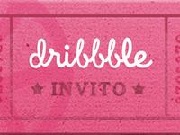 Invito Dribbble