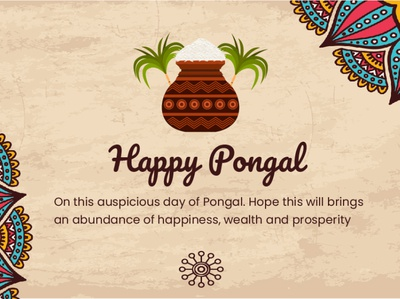 Happy Pongal 🎉2020