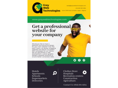 Company Flyer graphicdesign dailyui figma adobe illustrator flyer advertising