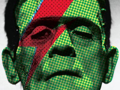 Frankenstein frankenstein bowie david bowie frankenbowie green