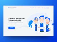 Health Company - Web Design and Wordpress Development