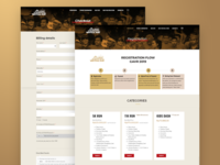 Running Registration | Web Design and Wordpress Development