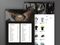 Peloton Coffee Shop | Web Design and Wordpress Development