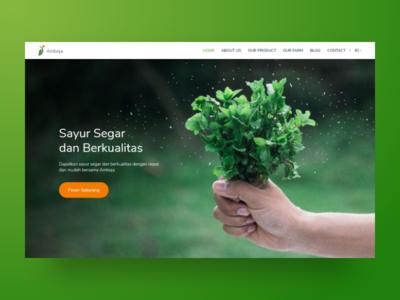 Amboja Farm | Web Design and Wordpress Development