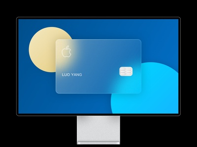 Apple Card sketch design apple