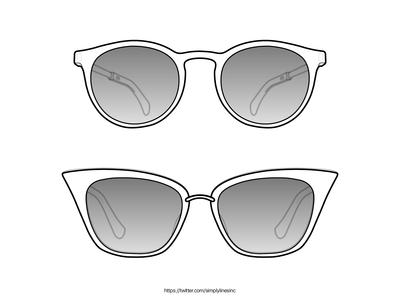 Eyewear Lineart