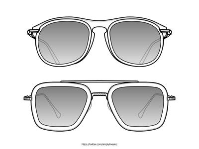 Eyewear Line art