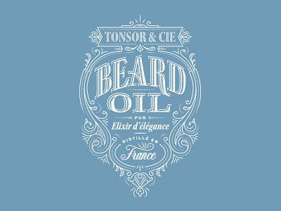 Elixir typography packaging lettering