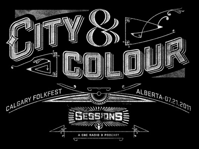 City and colour sessions