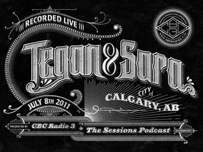 Tegan and Sara cbc music greyscale podcast sessions sanborn