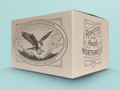 49th Parallel packaging lettering animal typography illustration