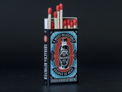 Safety Matches design logo lettering branding packaging illustration typography