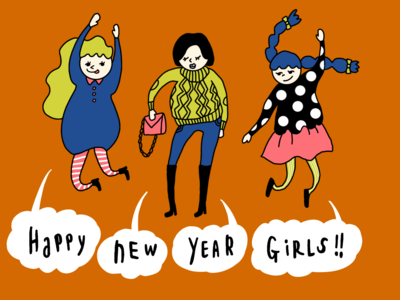 HAPPY NEW YEAR GIRLS!