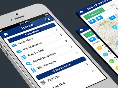 Mobile ui ux design mobile software product menu home