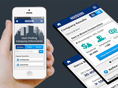 Mobile ui ux design mobile marketing menu home