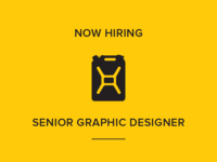 Hiring: Senior Graphic Designer