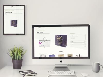 Product website for client Bag Image site design website web design webdesign graphic design illustration wordpress divi theme wordpress design wordpress theme website concept website design