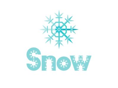 Inktober branding day 11 : Snow