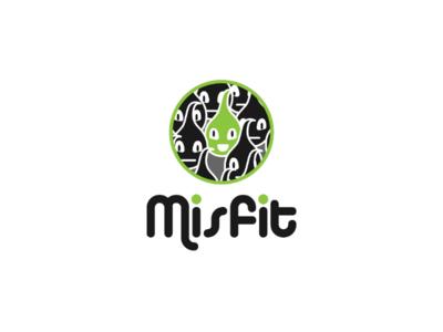 Inktober branding day 18 : Misfit