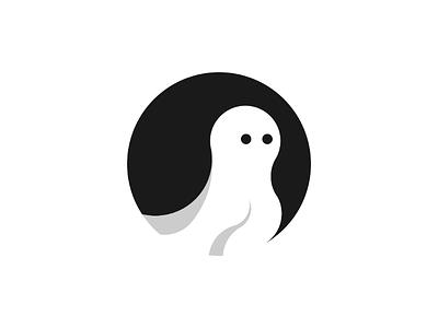 Inktober logo day 22 : Ghost day22 fantome branding logo brand vector inktober illustrator ghost