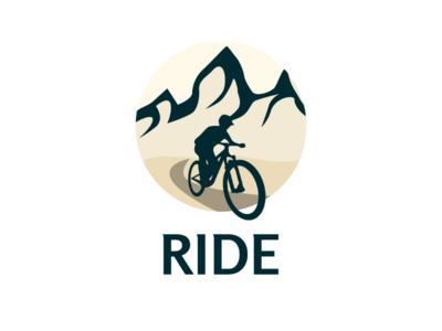 Inktober logo day 28 : Ride second version