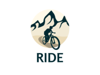 Inktober logo day 28 : Ride second version