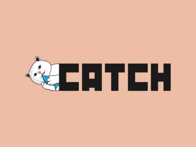 Inktober logo day 30 : Catch