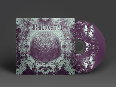 Nihilaeth - Nescience Artwork music art cd packaging cd artwork cd cover cd design album artwork album cover album art cover artwork cover design cover art artwork music