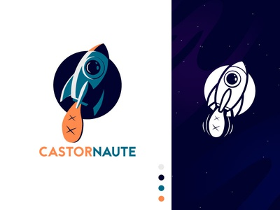 Logo Castornaute - French Digital Agency