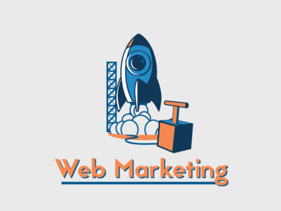 Web Marketing Icon - French Digital Agency