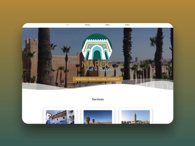 Maroc Art & Culture Website