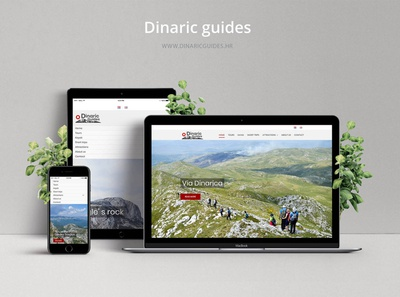 Dinaric Guides website development developer web development web developer ui ux uiux wordpress development ui design mountains hiking wordpress web designer webdesign web ux designer uxdesign ux ui design