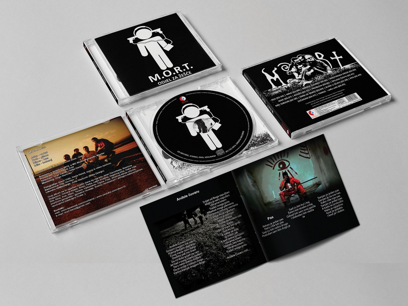 ODJEL ZA ŽEŠĆE CD JEWELCASE & BOOKLET digital art photo retouch photo edit photography music band pictogram print print design cd design booklet design booklet jewelcase cd cd artwork mort band mort odjel za zesce josip markovic boza design