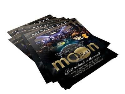 Moon Bar flyer design croatia split cocktails caffe bar advertisment add add design flyer design flyer poster poster design moon bar moon photography print design design photo edit photo retouch josip markovic boza design