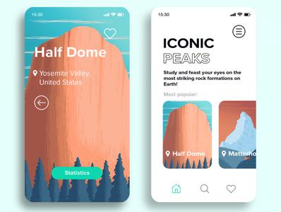 Iconic peaks App