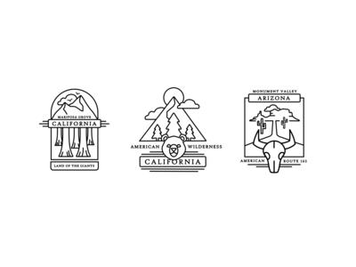 West Coast Badges