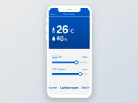 Daily UI 021 Home Monitoring Dashboard