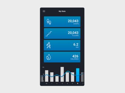 Daily UI 041 Workout Tracker workout tracker dailyui 041 dailyui