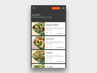 Daily UI 043 Food/Drink Menu