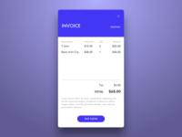 Daily UI 046 Invoice