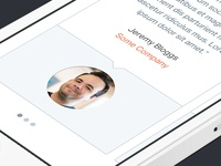 Strategik Responsive Website -Mobile View